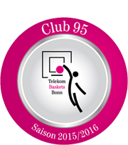 Club 95 Partner der Telekom Baskets Bonn